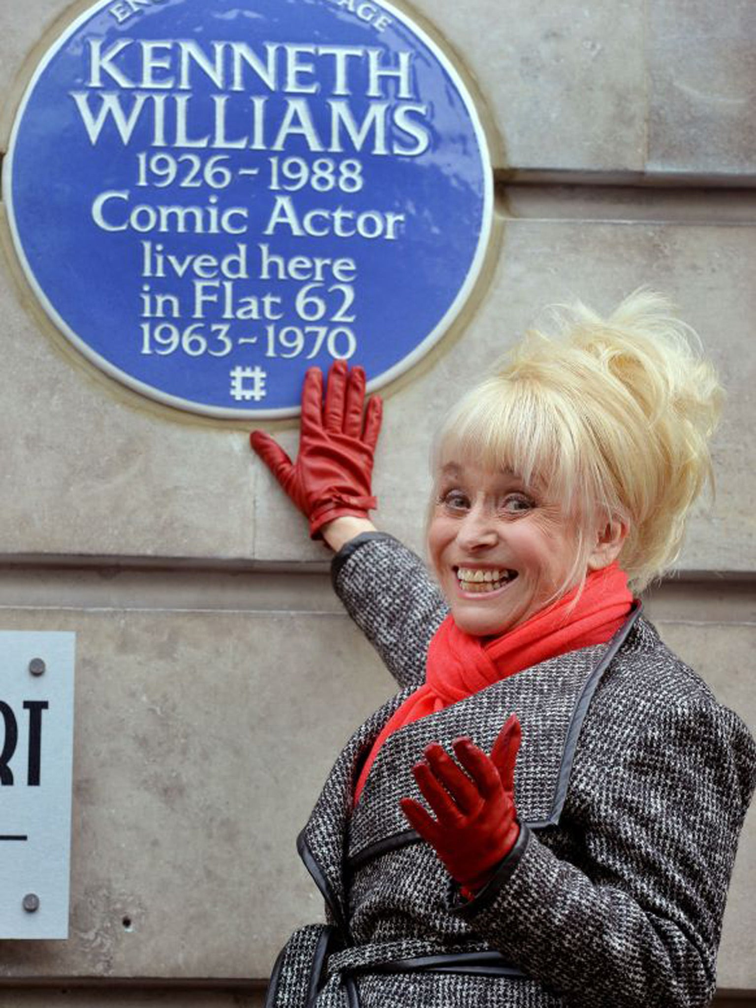 Kenneth Williams gets blue plaque - unveiled by 'Carry On' co-star Barbara Windsor | The Independentindependent_brand_ident_LOGOUntitled