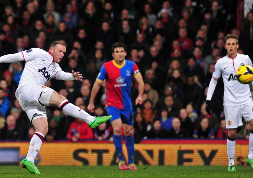 Crystal Palace 0 Manchester United 2 Match Report Wayne Rooney
