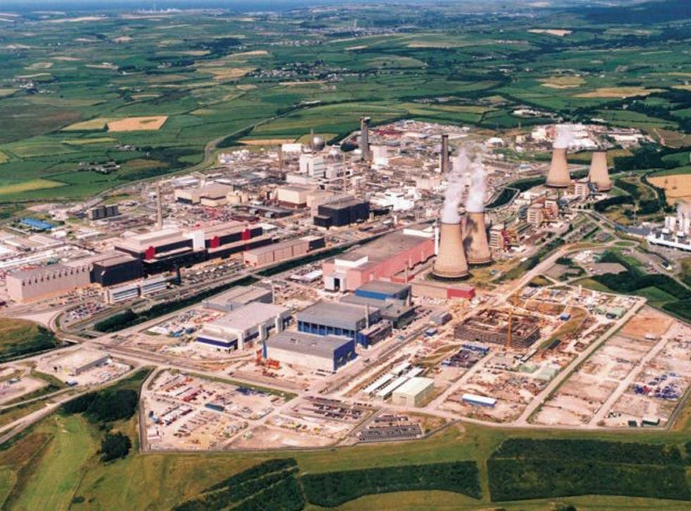 Much of the nuclear waste at the Drigg dump originates from Sellafield, a few miles away