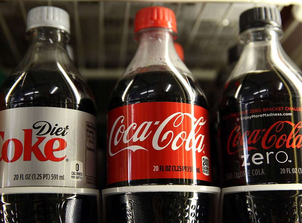 Coca-Cola moved up from fifth to third place (AFP/ Getty)
