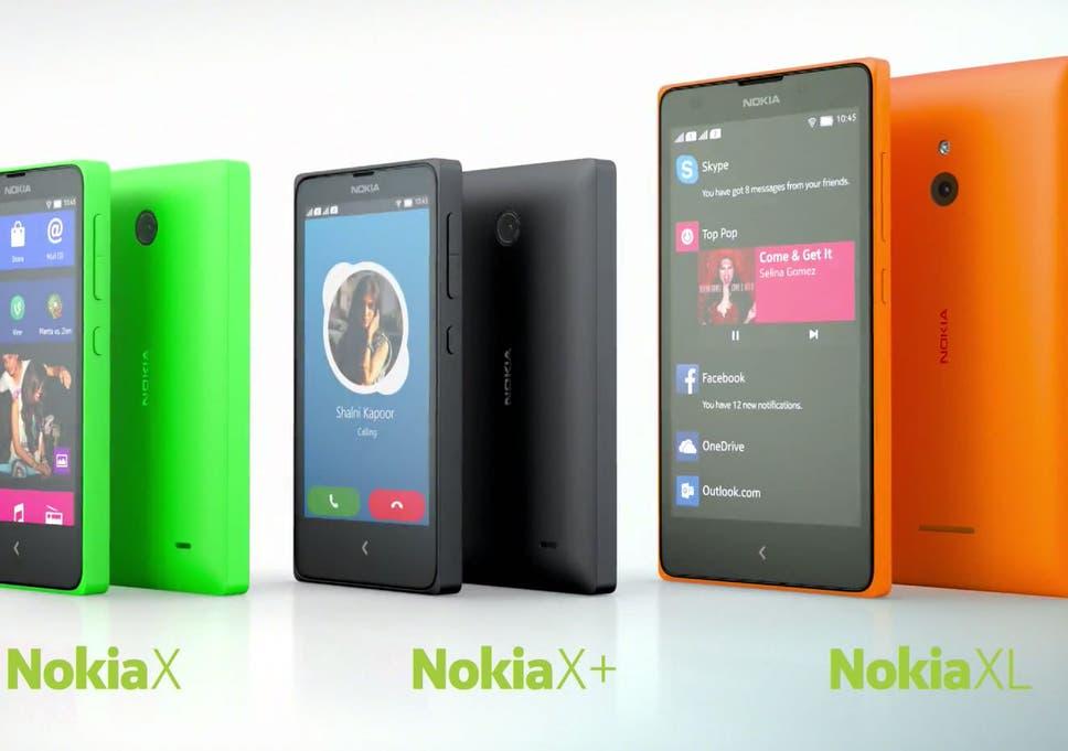 Woman Nokia