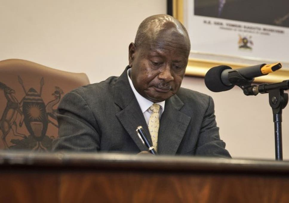 Ugandan president homosexuality in japan