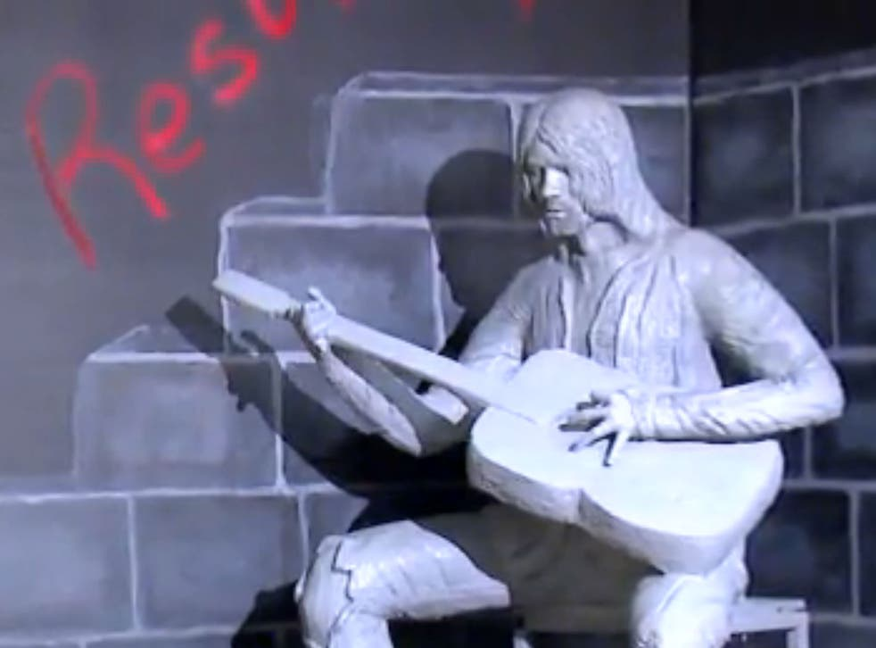 A statue of Kurt Cobain was unveiled in Aberdeen to mark what would have been his 47th birthday on 20 February, now named 'Kurt Cobain Day'