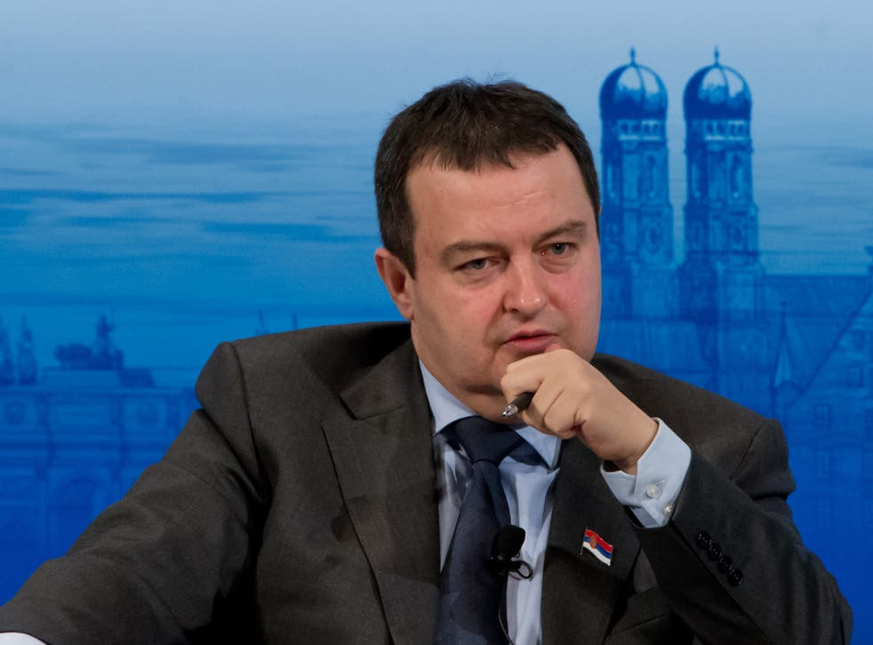 Serbian Prime Minister Ivica Dacic faces a battle to be re-elected next month