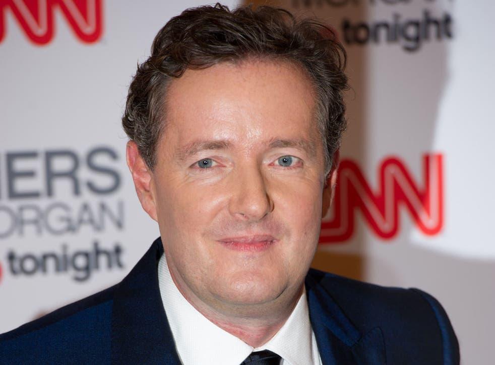 Piers Morgan attends his 'Piers Morgan Tonight' CNN launch Party at the Mandarin Oriental Hotel