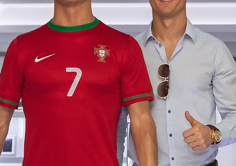 Kick Starter Cristiano Ronaldo And His Waxwork