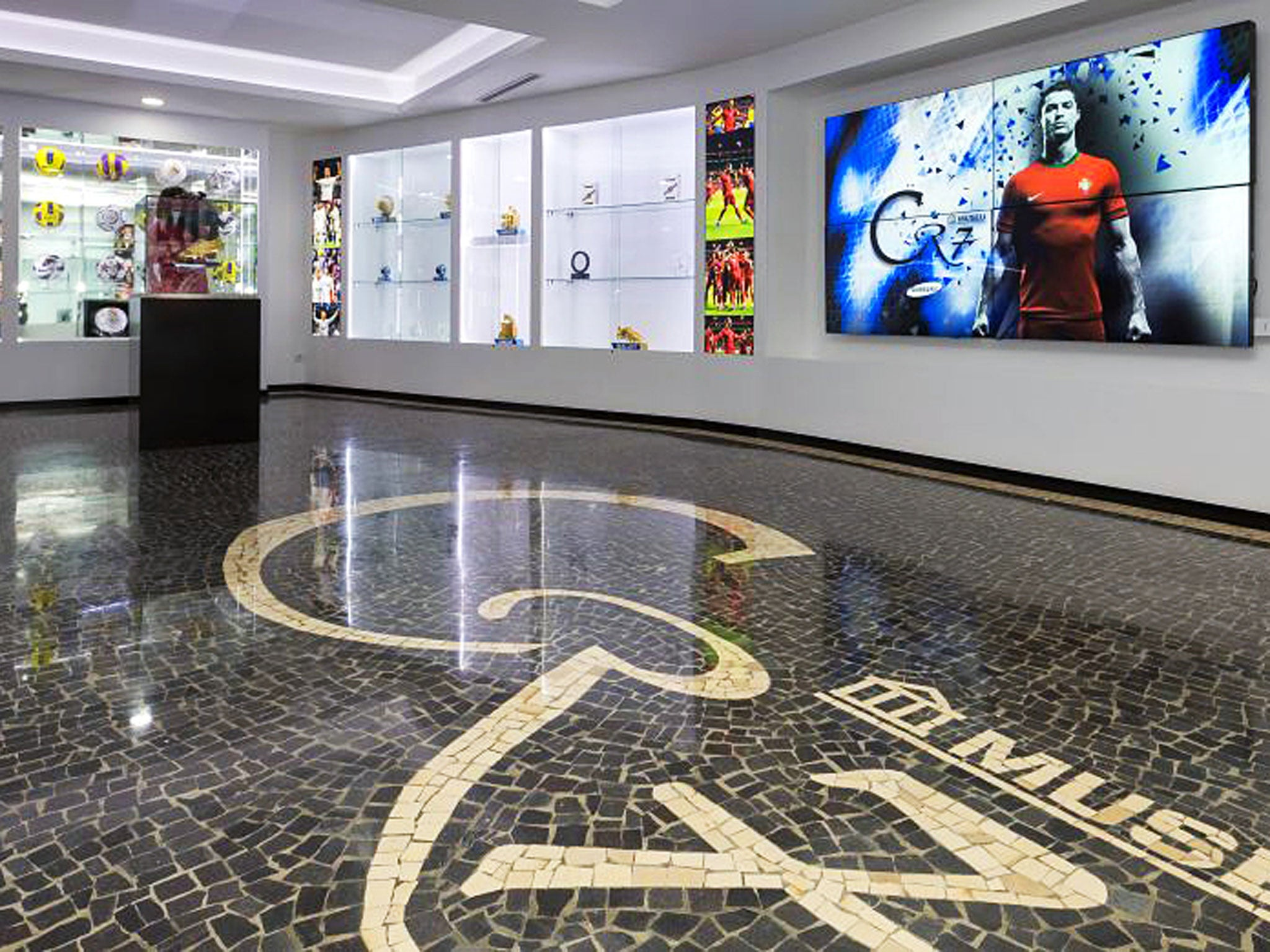 Inside Cristiano Ronaldos Museum I Have Room For More Trophies