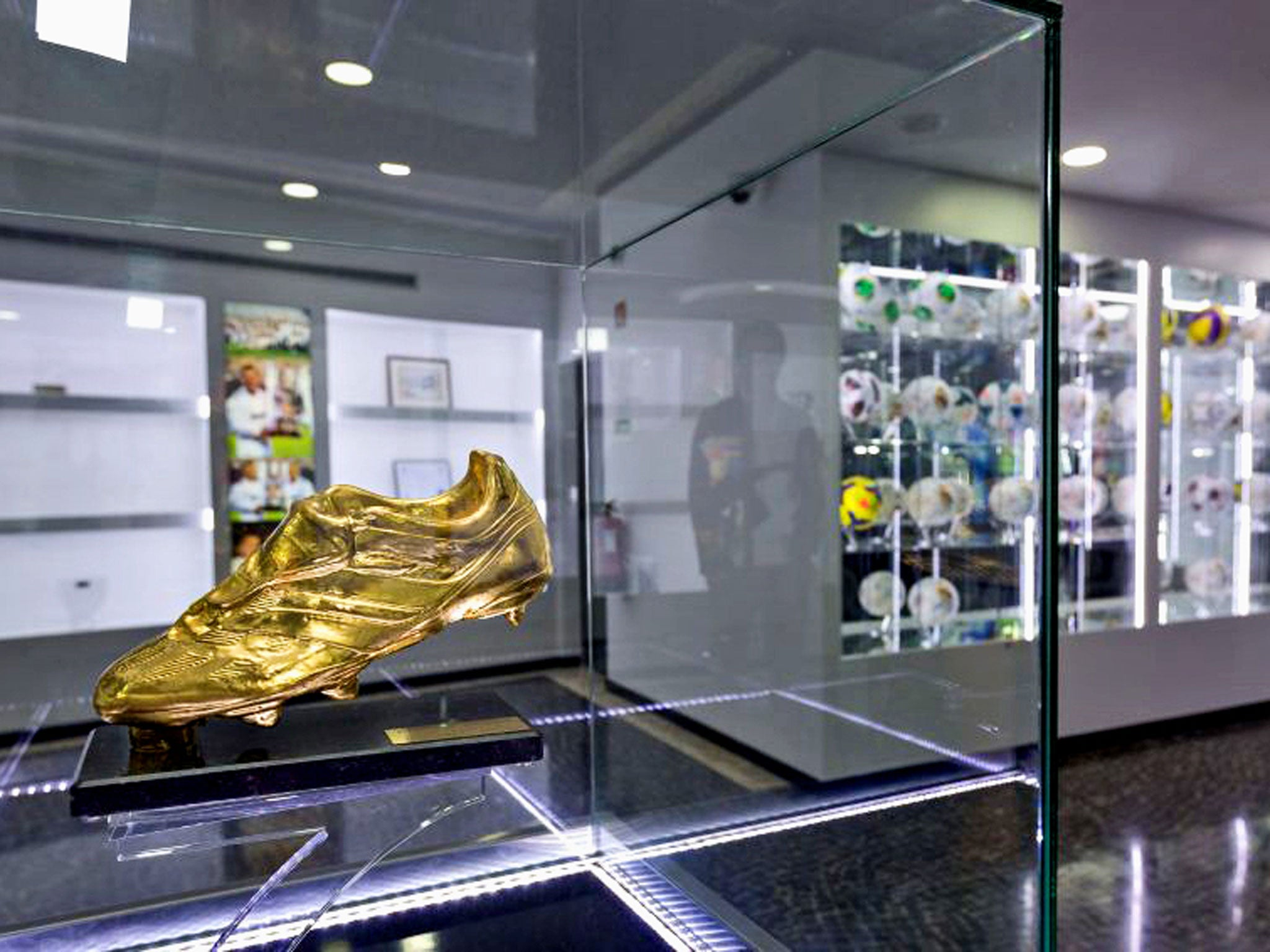 The Golden Boot Trophy