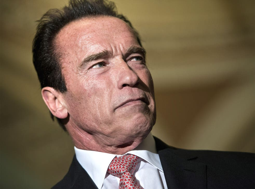 Arnold Schwarzenegger joined the group attacking rightwing policies on the environment