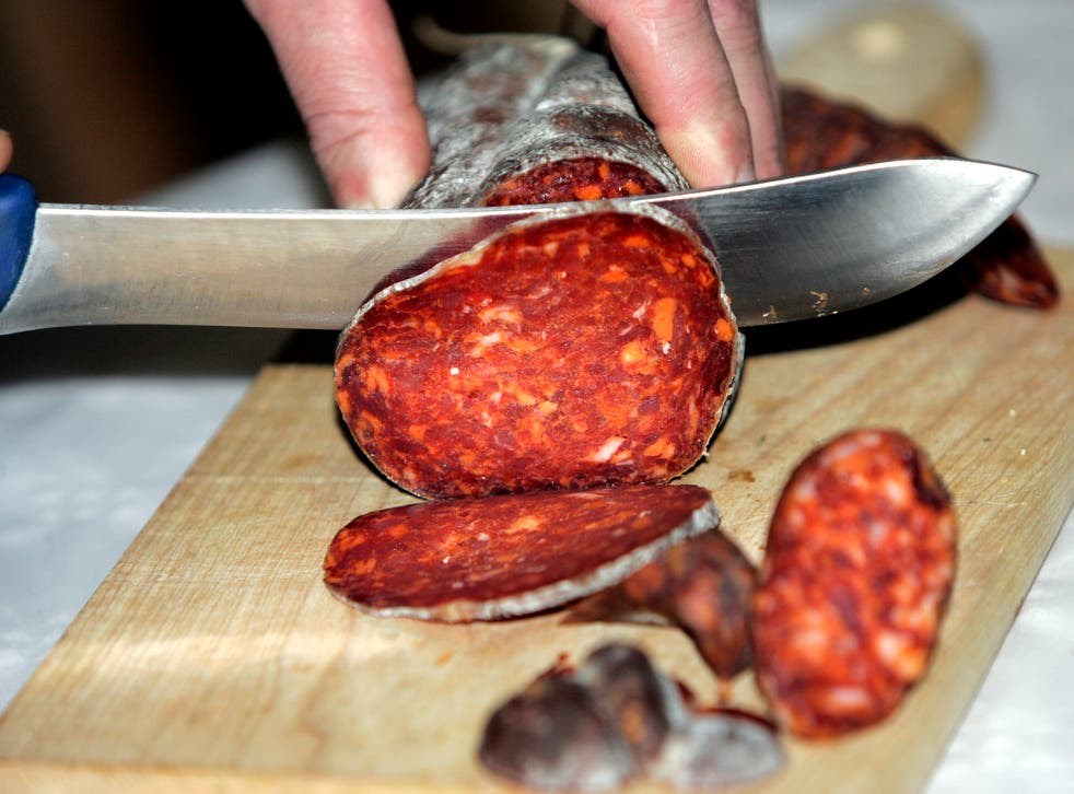 Bacterial fermentation is an essential part in making fatty pork sausages such as the 'kulen' variety (pictured).