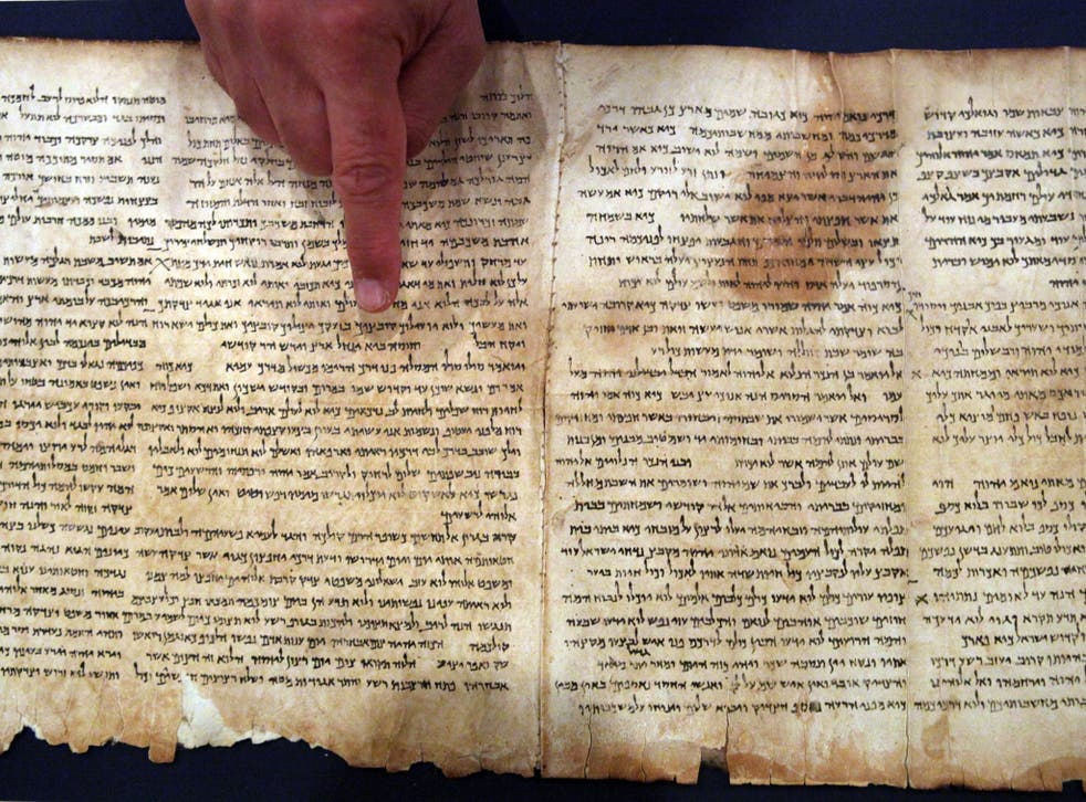 The Dead Sea Scrolls are almost 1,000 biblical manuscripts discovered in the decade after World War 2 in what is now the West Bank. The texts, mostly written on parchment but also on papyrus and bronze, are the earliest surviving copies of biblical and extra-biblical documents known to be in existence, dating over a 700-year period around the birth of Jesus. The ancient Jewish sect the Essenes is supposed to have authored the scrolls, written in Hebrew, Aramaic and Greek, although no conclusive proof has been found to this effect
