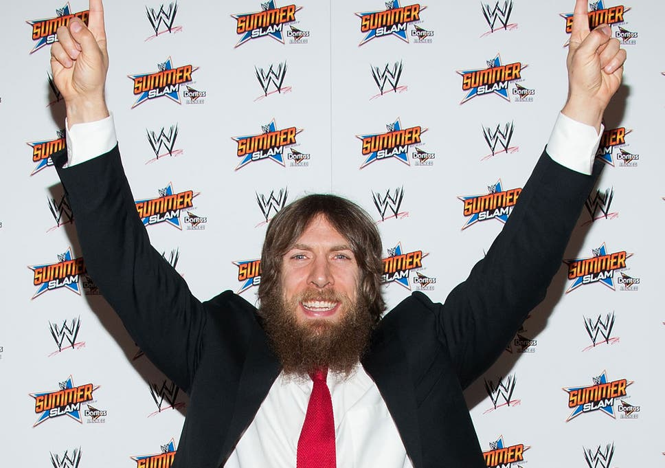 b85e18eaed Daniel Bryan makes his signature  YES!  chant at the SummerSlam press  conference last