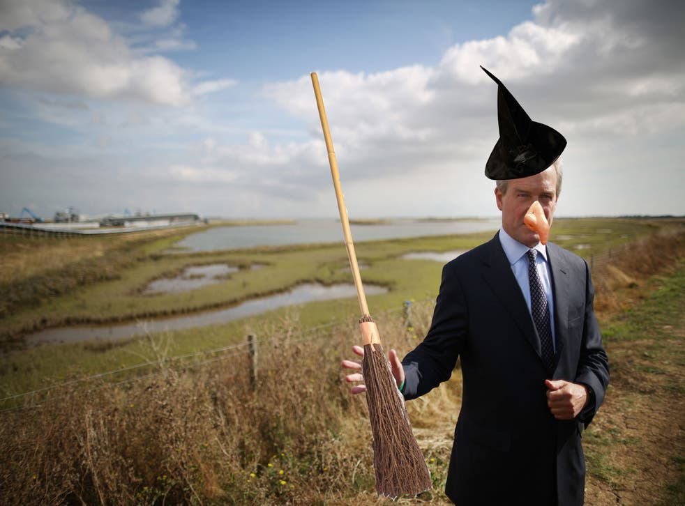 Owen Paterson, the Environment Secretary, has been inaccurately labelled a climate change denier by Ed Miliband, in full witch-hunt mode.