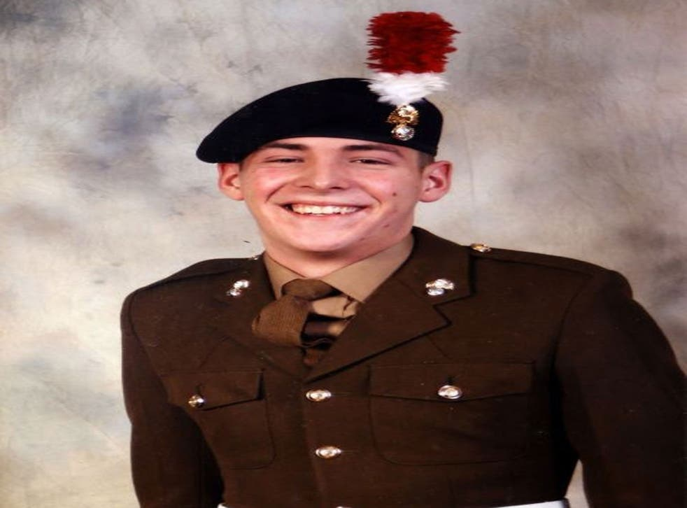 Drummer Lee Rigby of the Royal Regiment of Fusiliers, a British Army soldier, who was attacked and killed by two men near the Royal Artillery Barracks in Woolwich, southeast London.