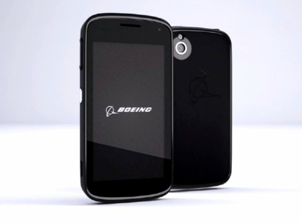 Boeing will offer specialised 'black phone' to government agencies and security contractors