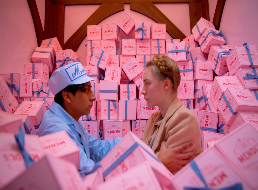 Mendl's cake boxes: 'The cake box was quite a complicated prop, it went through a lot of reworks'