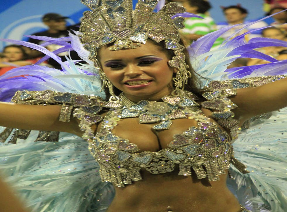There are more than 2 million people on the streets every day during the carnival
