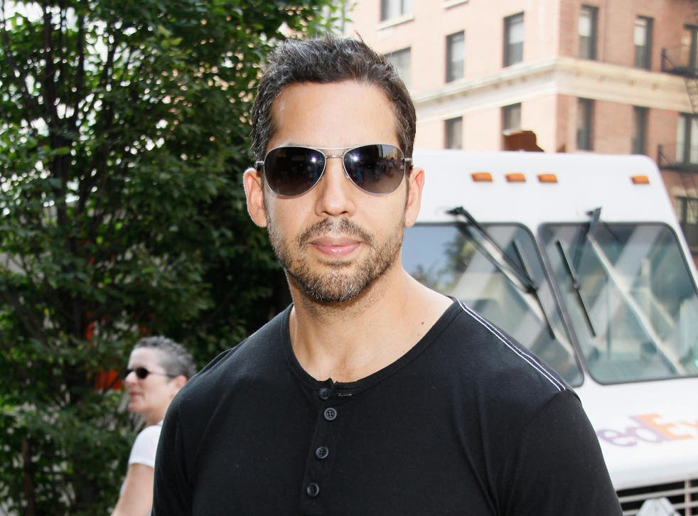 American magician David Blaine (pictured) kept Chris Blackhurst spellbound during a show this week