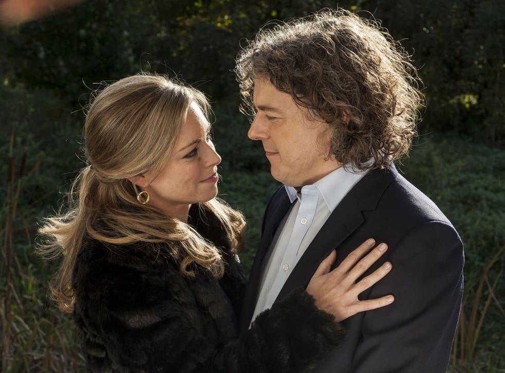 Magic cop: Sarah Alexander and Alan Davies in 'Jonathan Creek'