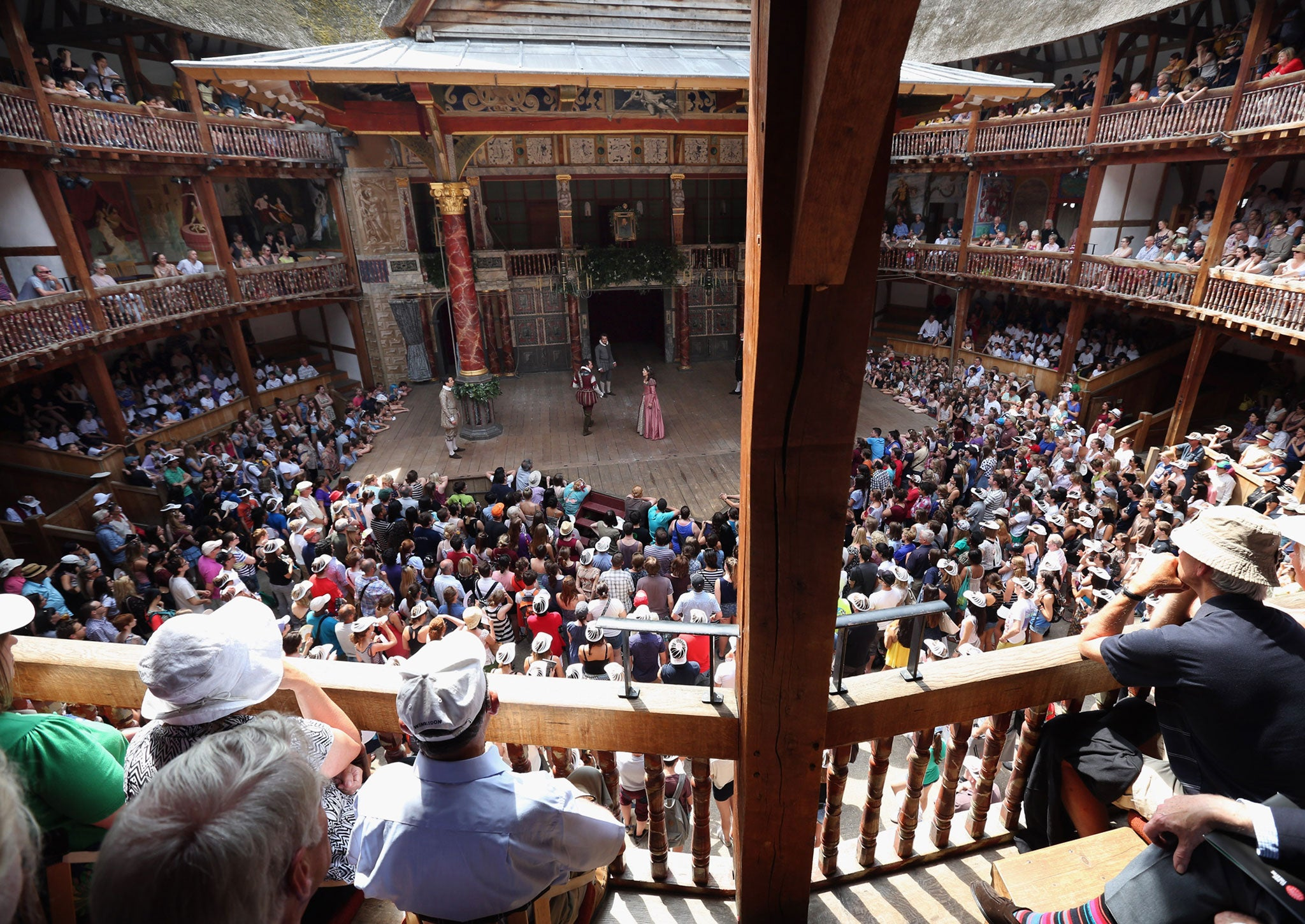 the history of the globe theater used in performance of shakespearean plays