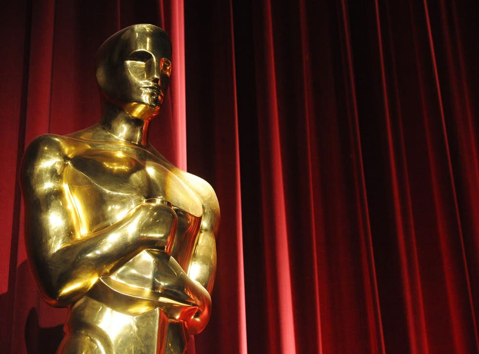 An Oscars statue is seen before the start of the 83rd Annual Academy Awards Nominations Announcement January 25, 2011 in Beverly Hills, California.