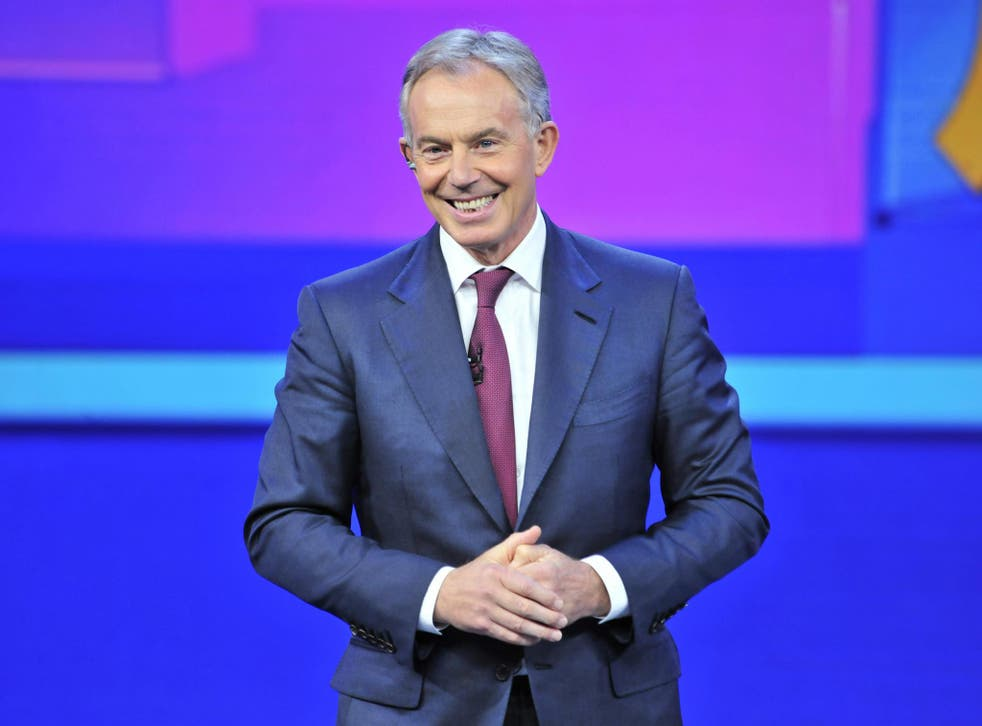 Former Prime Minister Tony Blair has given his back to Ed Miliband's internal Labour reforms