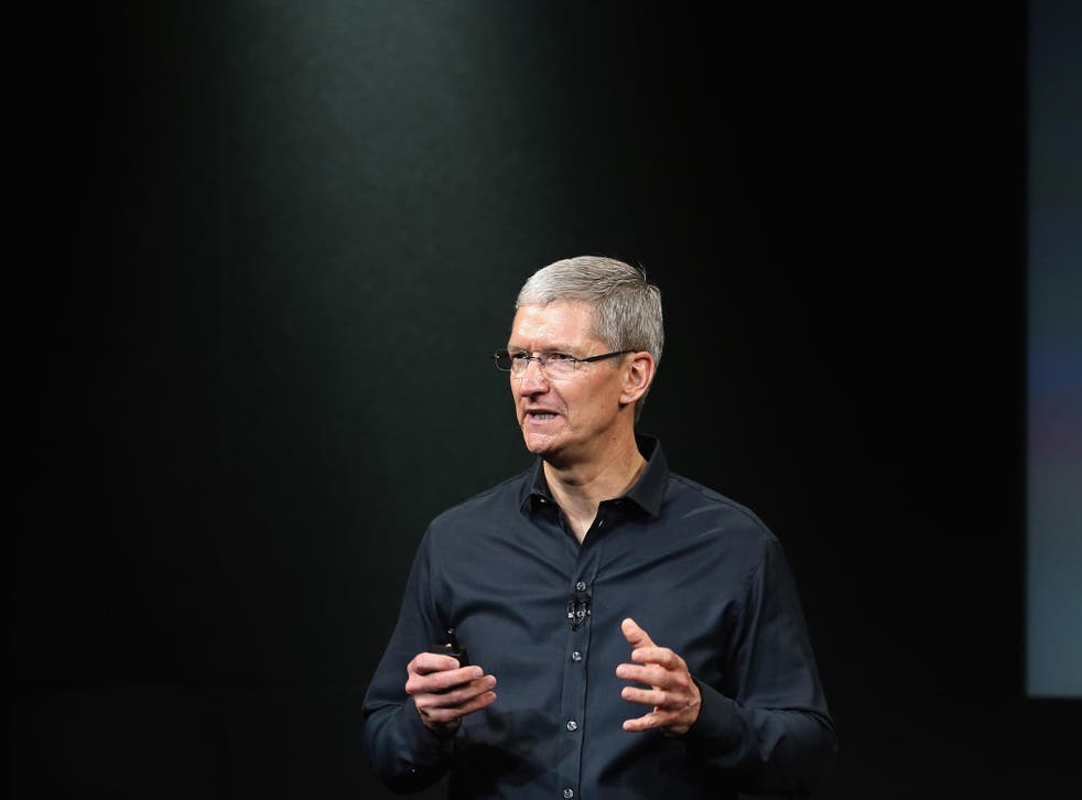 Tim Cook took on a right-wing think tank