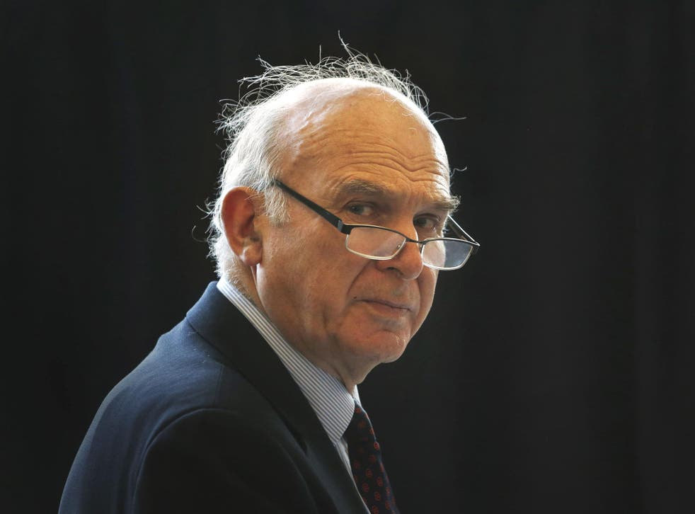 Vince Cable said teachers were undermining efforts to get students interested in manufacturing