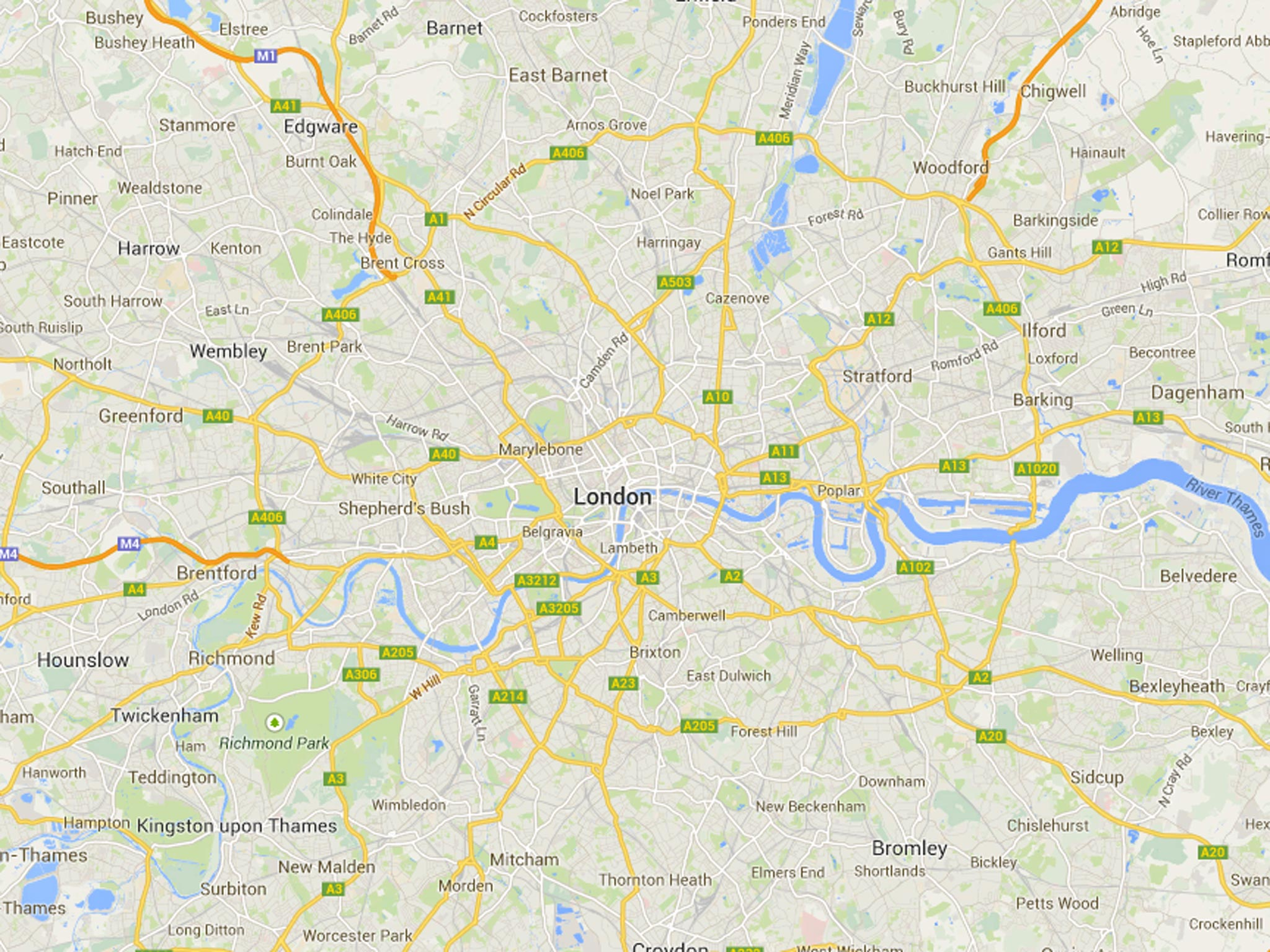 Maps Google Maps: Hospital Records Used To 'target Ads On Twitter And