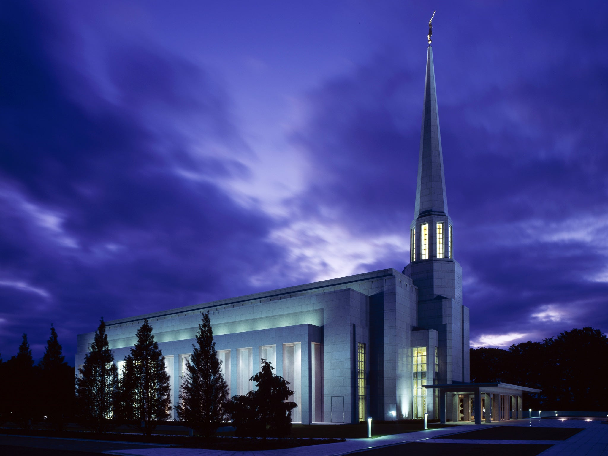 Mormon Church Loses English Temple Tax Fight In European Rights Ruling   The Independent