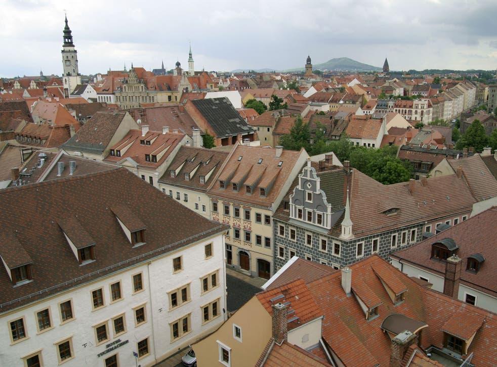 The rooftops of Görlitz