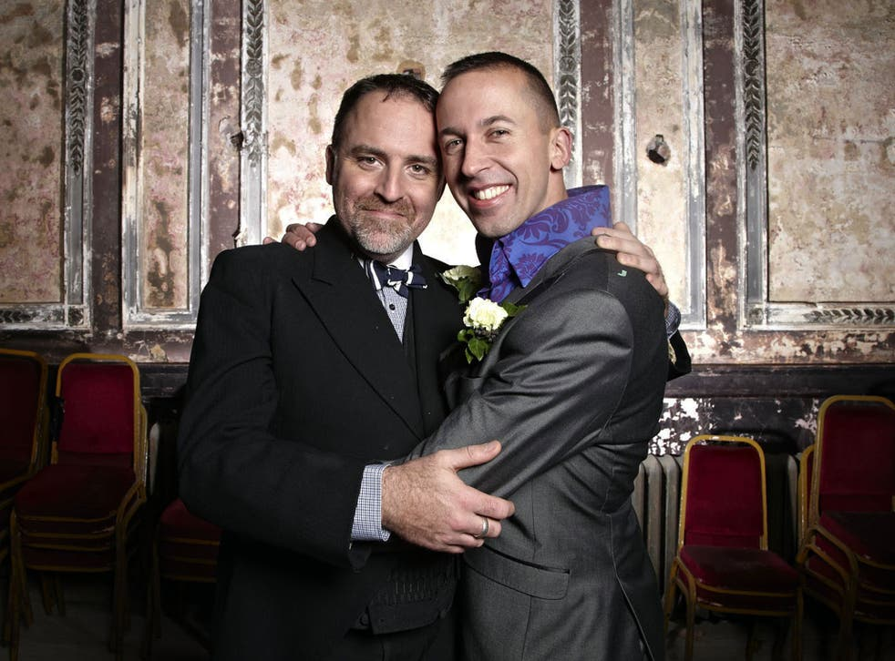 Benjamin Till and Nathan Taylor are to have their musical wedding narrated by Stephen Fry on Channel 4