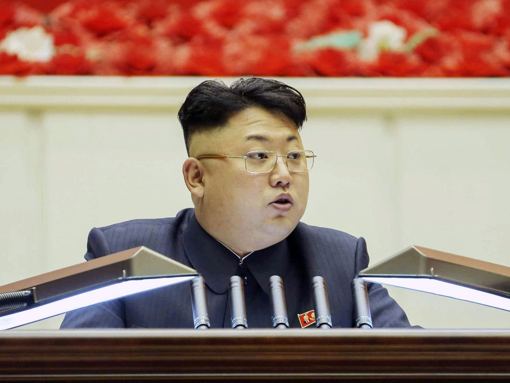 Kim Jong Un North Korean Dictator Turns Heads With Severe New