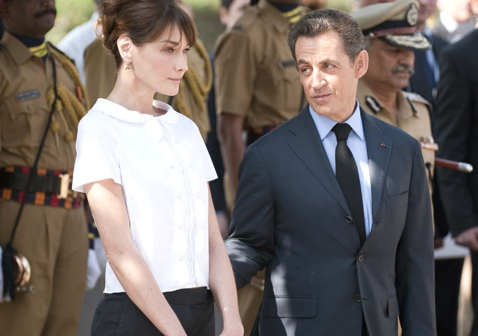 Former French President Nicolas Sarkozy and his wife Carla Bruni-Sarkozy 401cbd0843d5