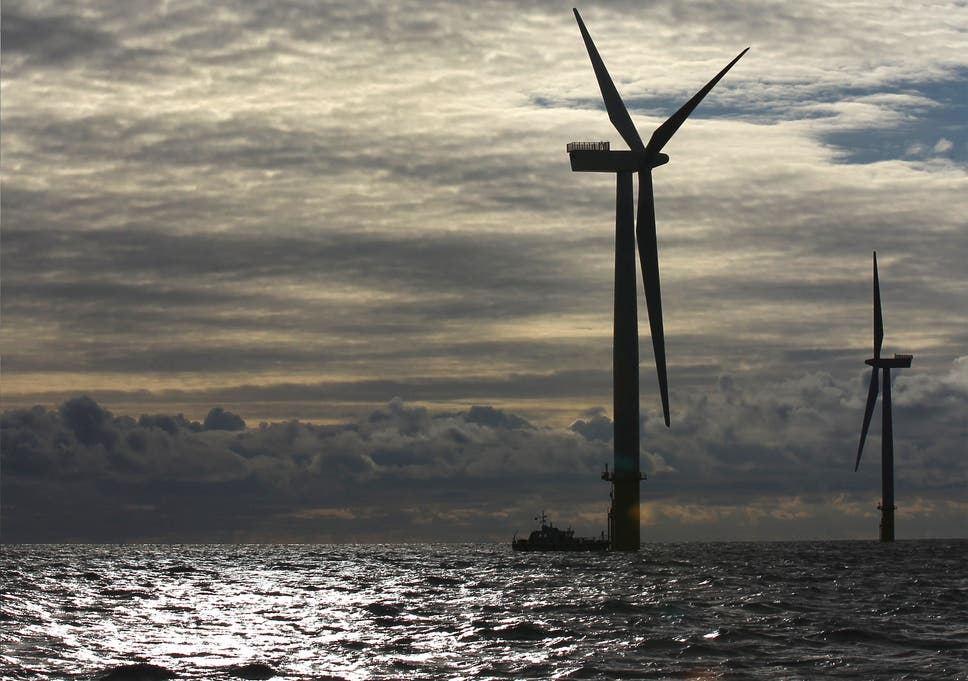 A £100bn red alert over green energy gap   The Independent