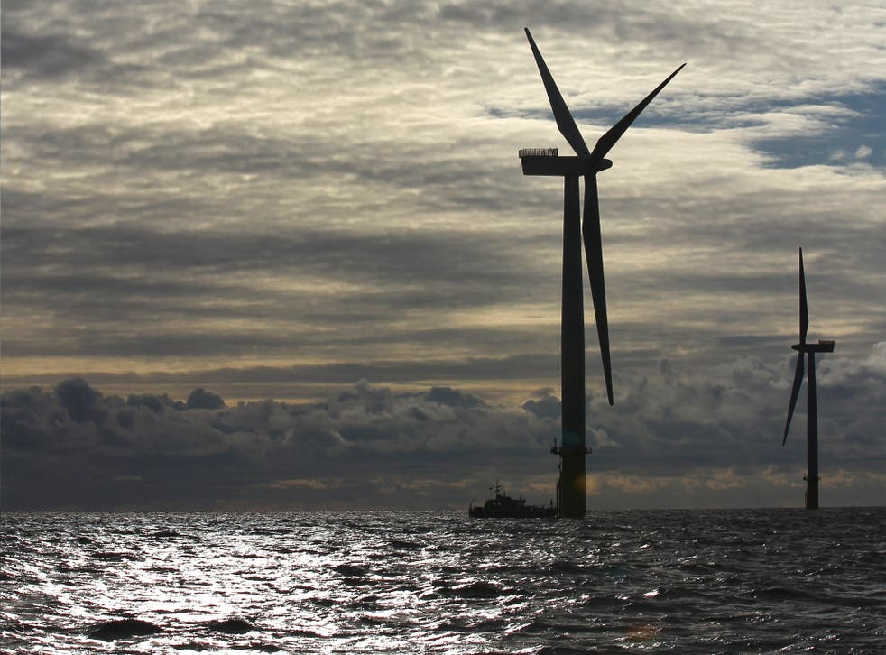 Institutional investors are being urged to back renewable energy projects like wind farms