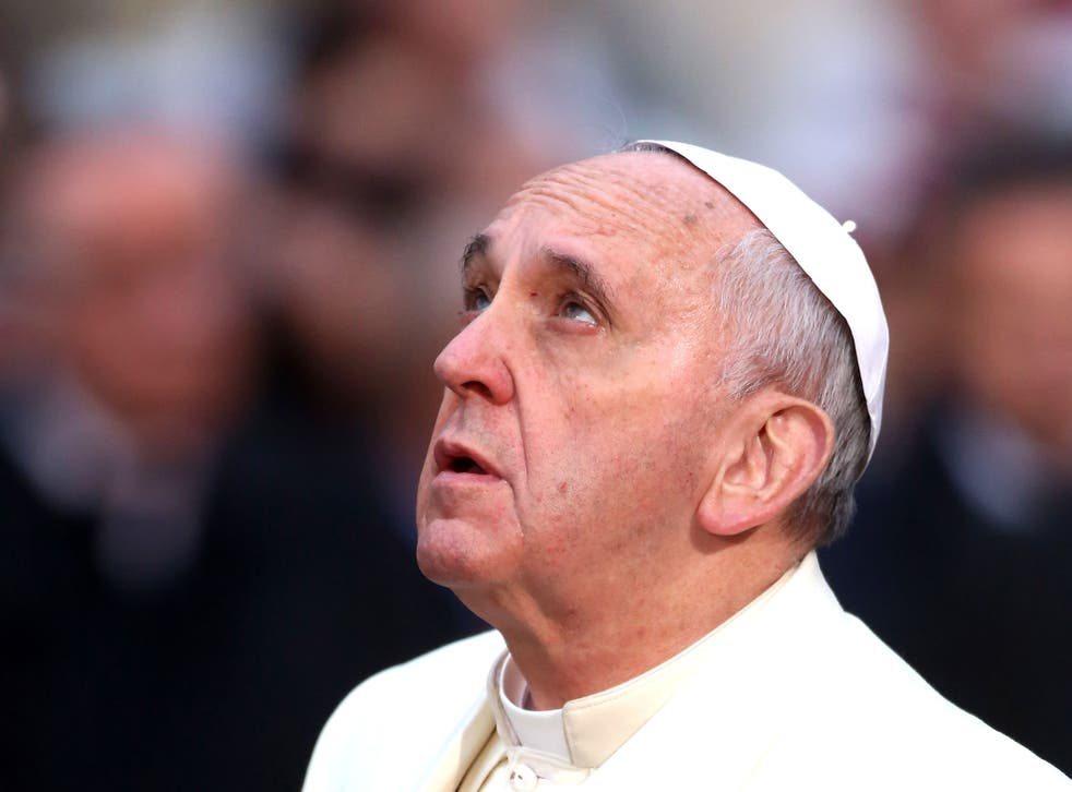Pope Francis says his advisors have told him two per cent of the clergy are paedophiles