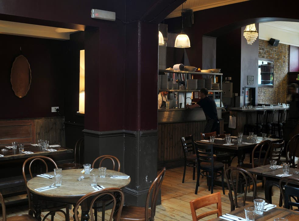 Attractive: The Camberwell Arms' décor shows no interest in industrial chic