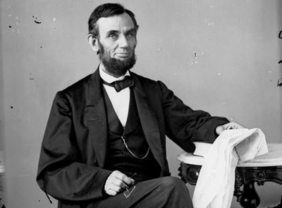 Researchers said the breakthrough with Abraham Lincoln's secretive letter was 'a remarkable achievement'