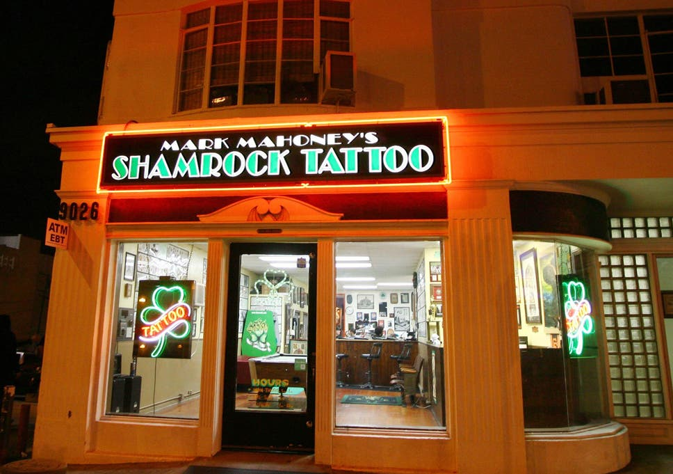Shamrock Social Club Is The Place To Get Inked In Hollywood