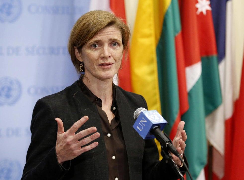 US Ambassador to the United Nations Samantha Power