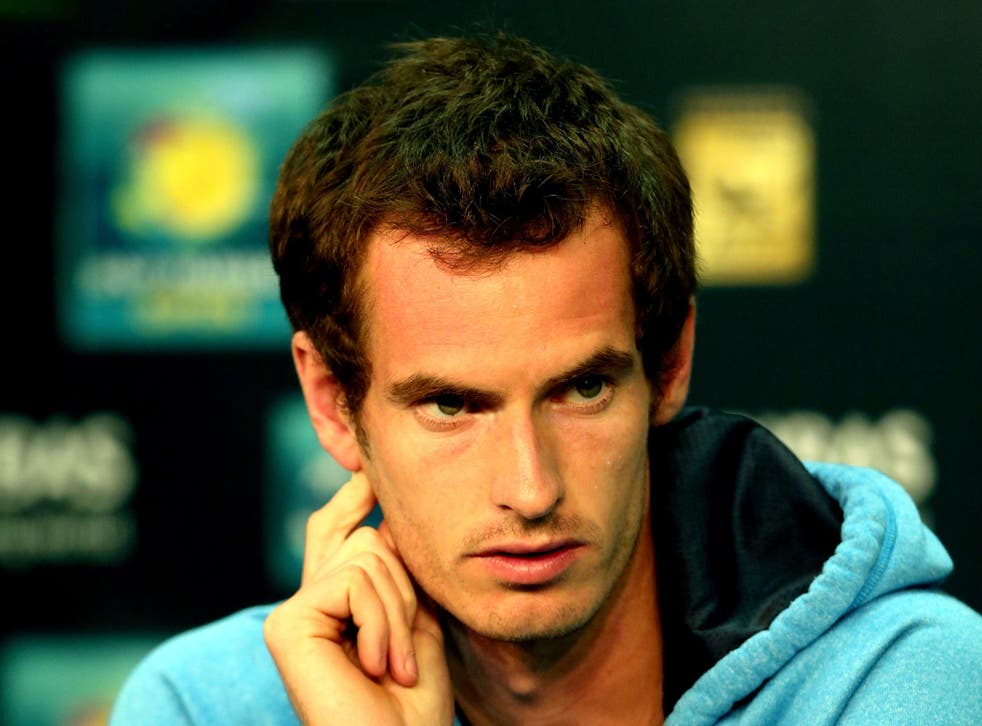 Andy Murray feels he is back to his best ahead of his Indian Wells campaign