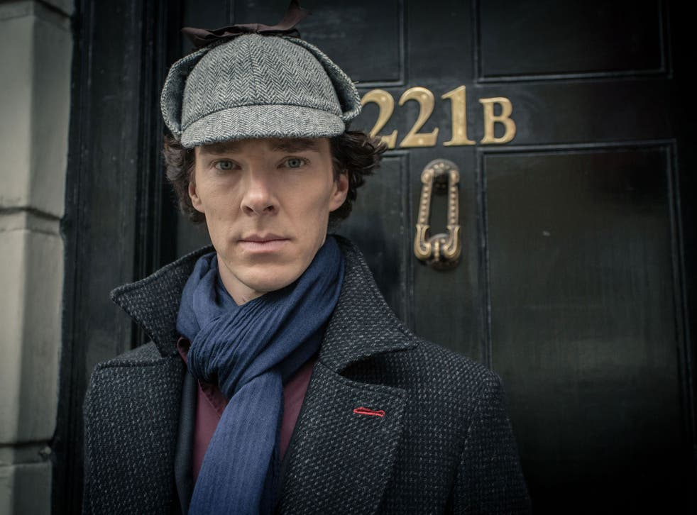 Mark Gatiss says Benedict Cumberbatch oozes sex appeal with his 'Byronic looks' and Sherlock coat