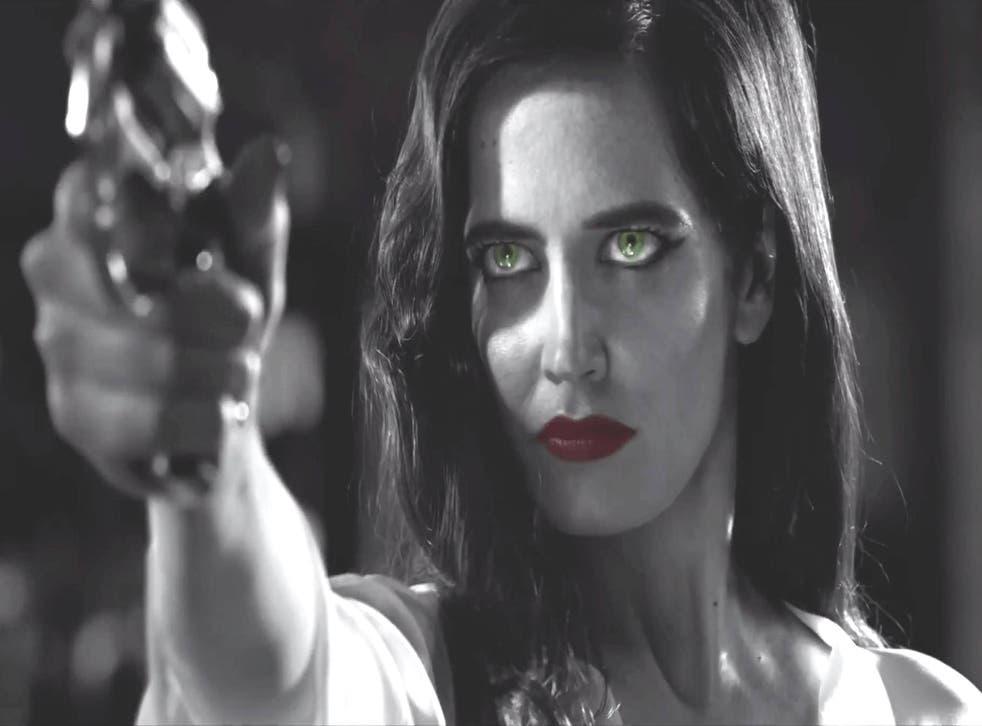 Eva Green makes her Sin City debut