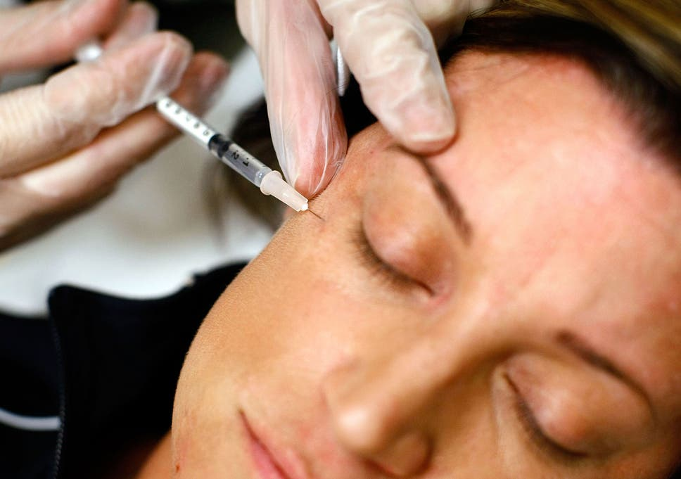 Cosmetic fillers can cause blindness when injected into the forehead