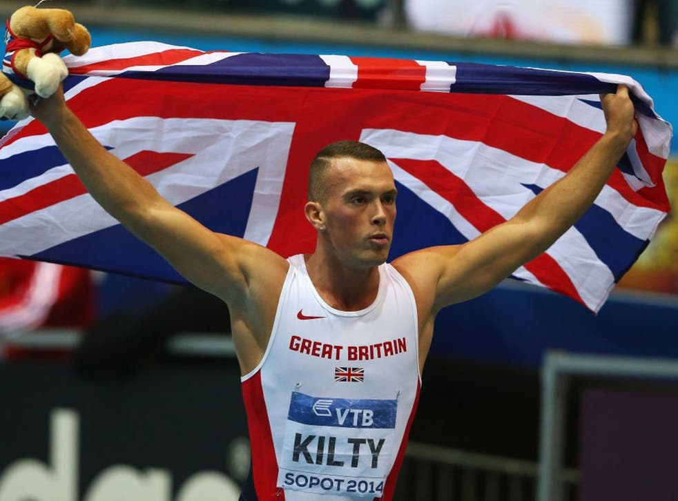 Kilty had been overlooked for 200m selection at the London Olympics in 2012