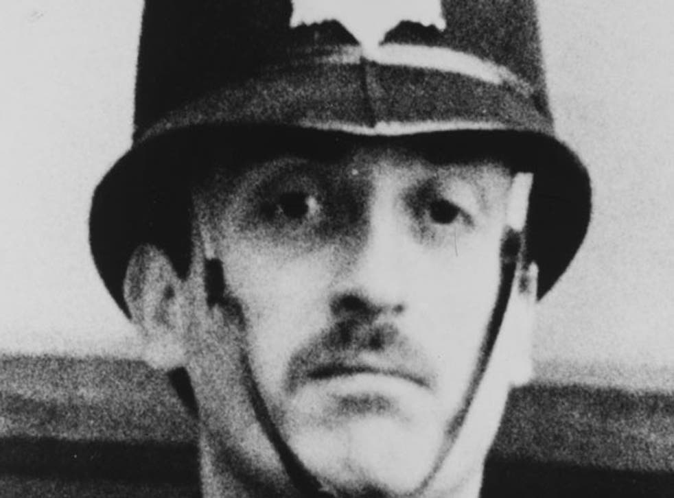 PC Blakelock was stabbed some 40 times as he lost contact with an 11-strong team of officers