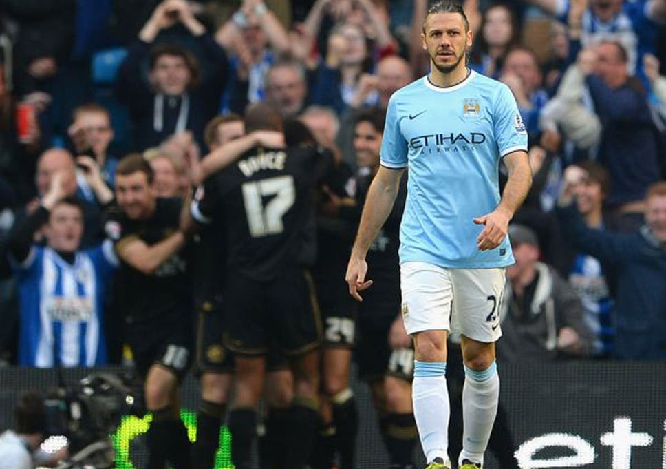 36de19d08 Martin Demichelis endured a tough start at Manchester City but improved  towards the end of the