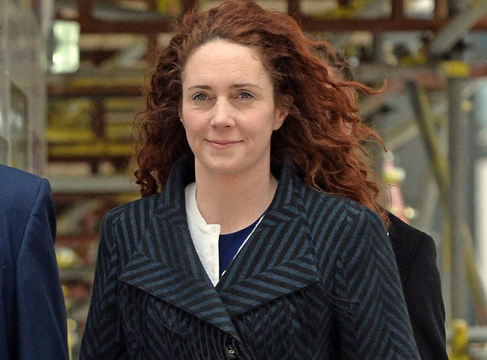 Former News International chief executive Rebekah Brooks arrives at the Old Bailey