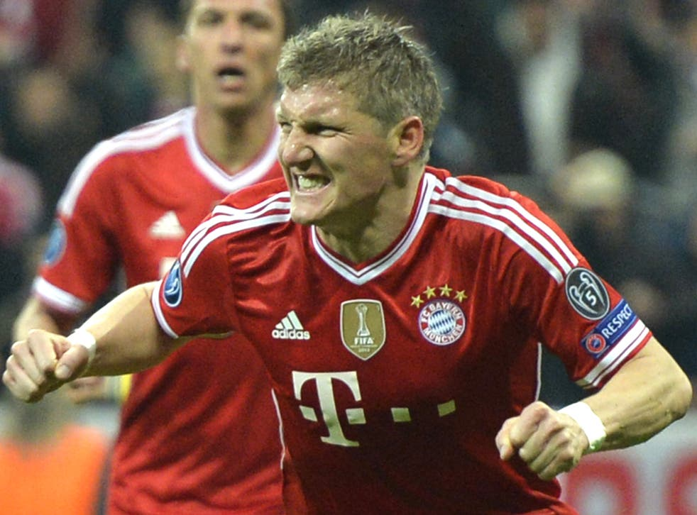 Bastian Schweinsteiger could be on his way to Old Trafford